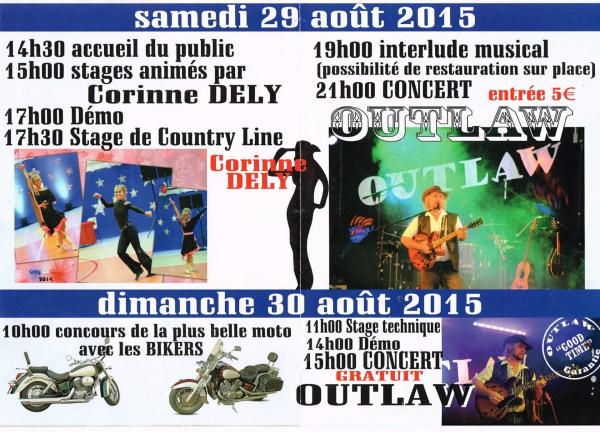 festival country août 2015